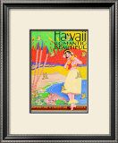 Hawaii, Romantic and Beautiful Prints