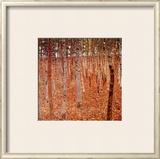 Beechwood Forest, 1903 Poster by Gustav Klimt
