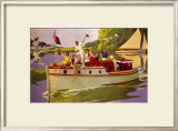 The Broads, LNER/LMS Poster, 1937 Framed Giclee Print by Arthur C Michael