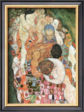 Death and Life Poster by Gustav Klimt