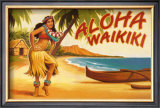 Aloha Waikiki Prints