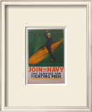 Join The Navy Print by Babcock