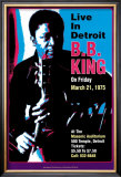 B.B. King: en vivo en Detroit Psters por Dennis Loren