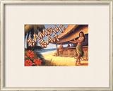 Bamboo Bar, Hawaii Posters