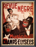 La Revue Negre, c.1925 Poster by Paul Colin