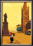 Montrose Framed Giclee Print by Austin Cooper