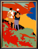 East Coast Joys, LNER Poster, 1931 Framed Giclee Print by Tom Purvis
