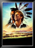 Dances with Wolves Posters by Renato Casaro