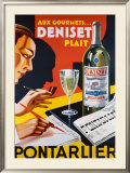 Deniset Framed Giclee Print