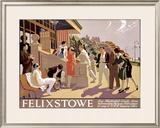 Felixstowe Framed Giclee Print