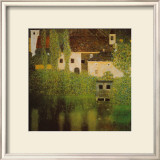 Castello Sul Lago Atter Prints by Gustav Klimt