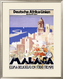 Malaga Framed Giclee Print by  Landi