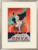 Cycles Onyx Framed Giclee Print by Fritayre