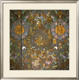 Butterfly Window Posters by Louis Comfort Tiffany