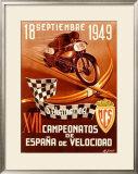 Salamanca Moto Framed Giclee Print by  Gracia