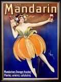 Mandarin Framed Giclee Print