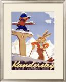 Kandersteg Framed Giclee Print