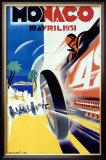 Monaco Grand Prix Formula 1, c.1931 Framed Giclee Print