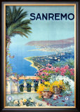 San Remo Framed Giclee Print by  Allicari