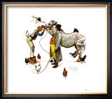 Horse Trader Posters by Norman Rockwell