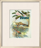 A Trip to Hawaii Framed Giclee Print