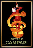 Bitter Orange Campari Aperitif Framed Giclee Print by Leonetto Cappiello