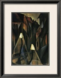 Street at Night Poster by Tamara de Lempicka