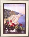 Amalfi Framed Giclee Print