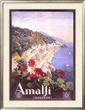 Amalfi Framed Giclee Print