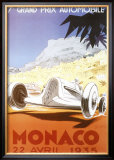 7th Grand Prix Automobile, Monaco, 1935 Posters by Geo Ham