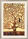 A Árvore da Vida Pôsteres por Gustav Klimt