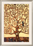 The Tree of Life, Stoclet Frieze, c.1909 Poster by Gustav Klimt