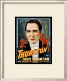 Thurston World Famous Magician Framed Giclee Print