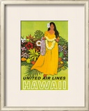 United Airlines, Lei Offering Posters