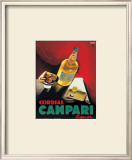 Cordial Campari Prints by Marcello Nizzoli