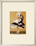 Rosario and Antonio, 1949 Posters by Paul Colin