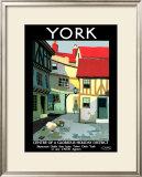 York, LNER Poster, 1924 Framed Giclee Print by Verney L Danvers