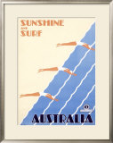 Australia Framed Giclee Print by Sellheim