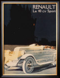 Renault La 40 Cv Sport Posters