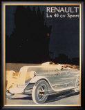 Renault La 40 Cv Sport Posters