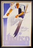 Winter Sports in Italien Prints by Franz Lenhart