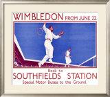 Wimbledon Framed Giclee Print