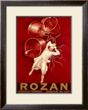 Rozan Chocolat Framed Giclee Print by Leonetto Cappiello