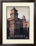 Ferrara Framed Giclee Print by Mario Borgoni