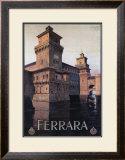 Ferrara Framed Giclee Print by Mario Borgoni