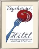 Vegetarian Restaurant Hiltl Framed Giclee Print