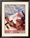 10 Niet Framed Giclee Print by A. Vedeneev