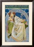 Princezna Hyacinta Framed Giclee Print by Alphonse Mucha
