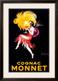 Cognac Monnet Framed Giclee Print by Leonetto Cappiello