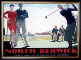 North Berwick Framed Giclee Print